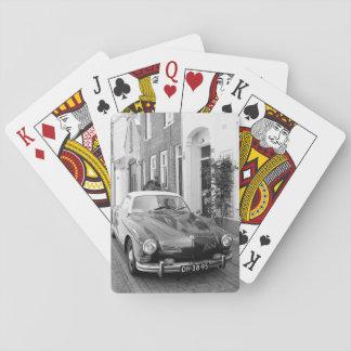 Jeu De Cartes Voiture classique Karmann Ghia B&W