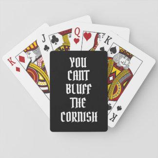 Jeu De Cartes Vous biseautez le bluff les cartes de jeu