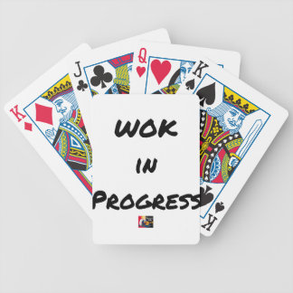 Jeu De Cartes WOK IN PROGRESS - Jeux de mots - Francois Ville