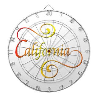 Jeu De Fléchettes Art de typographie de la Californie