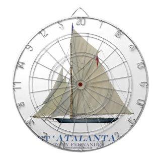 Jeu De Fléchettes Atalanta 1881