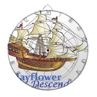 Jeu De Fléchettes Bateau de navigation de descendant de fleur
