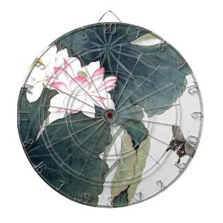 Jeu De Fléchettes Cool asiatique d'art de papillon de fleur de rose