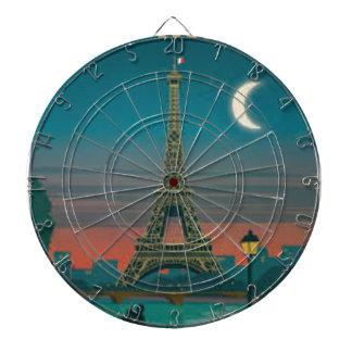 Jeu De Fléchettes Eiffel Tower vintage Paris