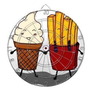Jeu De Fléchettes Fritures et crème glacée