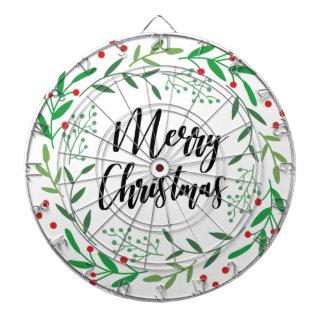 Jeu De Fléchettes Guirlande de Noël, Joyeux Noël, bonnes fêtes