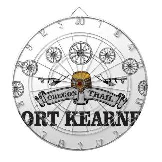 Jeu De Fléchettes kearney gris de fort de bannière
