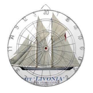 Jeu De Fléchettes Livonia 1871
