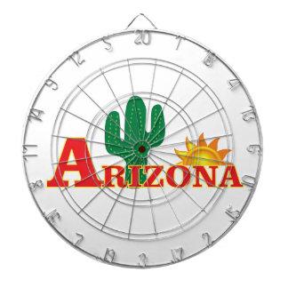 Jeu De Fléchettes Logo de l'Arizona simple