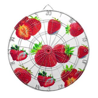 Jeu De Fléchettes Motif de fruit de fraise