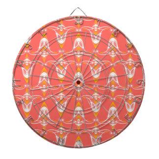 Jeu De Fléchettes motif orange