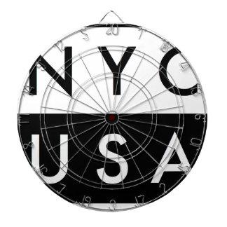 JEU DE FLÉCHETTES NYC ETATS-UNIS