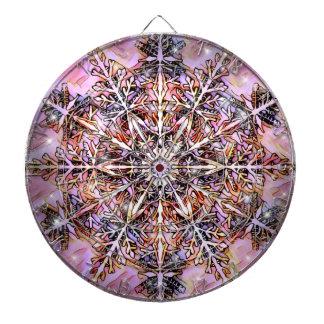 Jeu De Fléchettes Panneau de dard abstrait de mandala par l'oasis
