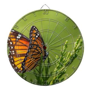 Jeu De Fléchettes Papillon de monarque orange et noir