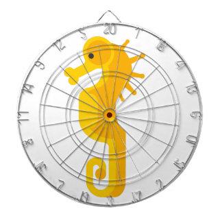 Jeu De Fléchettes Primitif jaune d'hippocampe