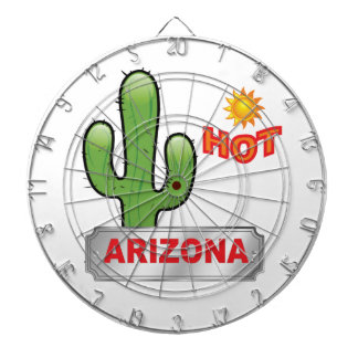 Jeu De Fléchettes Rouge chaud de l'Arizona