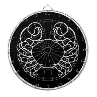 Jeu De Fléchettes Signe de zodiaque de crabe de Cancer