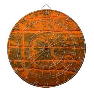 Jeu De Fléchettes Texture orange patinée