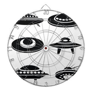 Jeu De Fléchettes vaisseaux spatiaux réglés