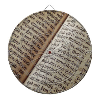 Jeu De Fléchettes Vieille bible des textes de ministère