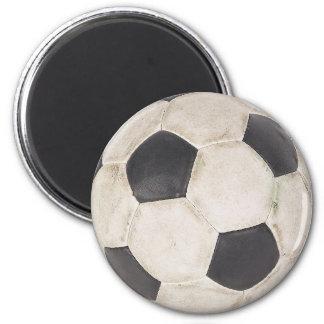 Jeu de football de Footie du football de fan de fo Magnet Rond 8 Cm