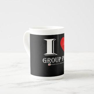 Jeu de groupe d'amour de la tasse de café I