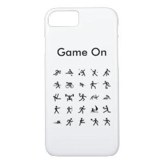 jeu de l'iPhone 7 sur le cas de sports Coque iPhone 7