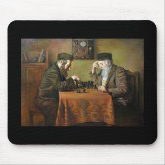 Jeu d'échecs tapis de souris