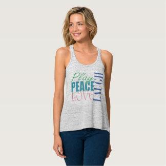 Jeu, paix, amour, rire débardeur