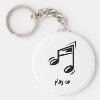 jeu sur le porte - clé porte-clés