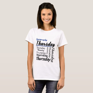 Jeudi T-shirt