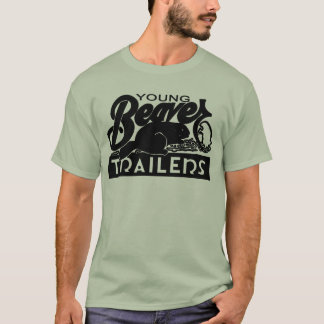 Jeune chemise de remorque de castor t-shirt