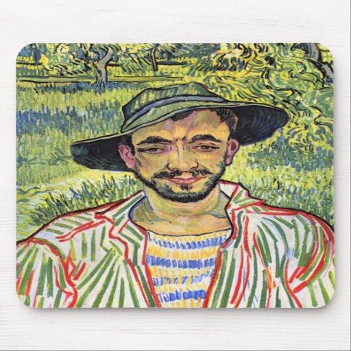 Jeune exploitant agricole par Vincent Willem Van G Tapis De Souris