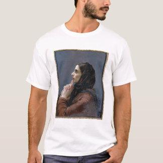 Jeune femme à la prière, 1879 (huile sur la toile) t-shirt