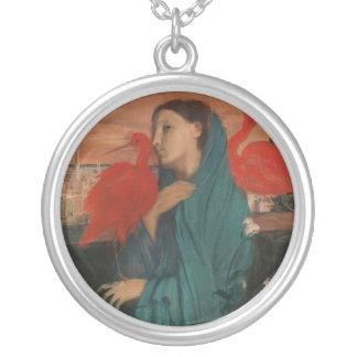 Jeune femme et IBIS, Edgar Degas Collier