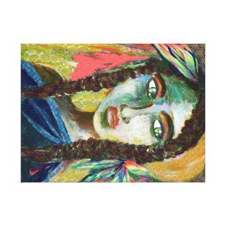 Jeune femme indienne toiles