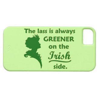 Jeune fille irlandaise verte coque Case-Mate iPhone 5