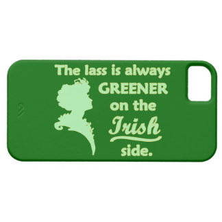 Jeune fille irlandaise verte coques iPhone 5 Case-Mate