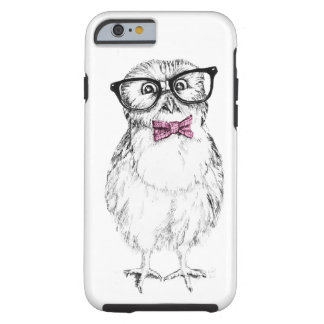 Jeune hibou ringard petit mais futé coque tough iPhone 6
