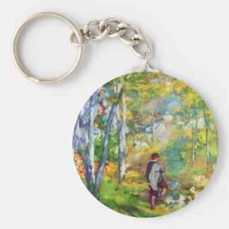 Jeune homme dans la forêt de Fontainebleau par Ren Porte-clef