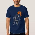 jeune loup rêvant t-shirt