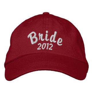 Jeune mariée 2012 casquette brodée