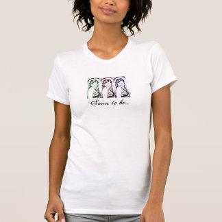 Jeune mariée à être réservoir t-shirt