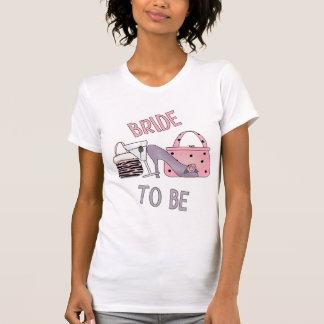 jeune mariée à être réservoir t-shirts