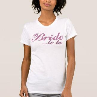 Jeune mariée à être t-shirts