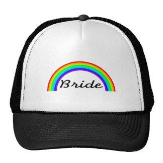Jeune mariée (arc-en-ciel) casquette