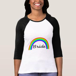 Jeune mariée (arc-en-ciel) t-shirt