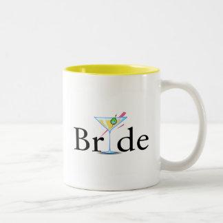 Jeune mariée (boisson de Martini) Mugs À Café