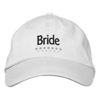 Jeune mariée - casquette brodé par mariage casquette brodée