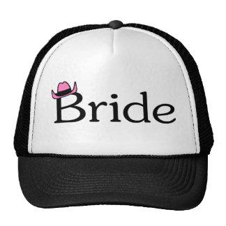 Jeune mariée (chapeau de cowboy) casquette